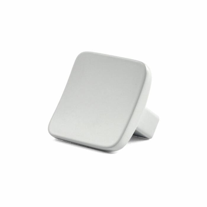 Gałka meblowa GG43, biały MAT