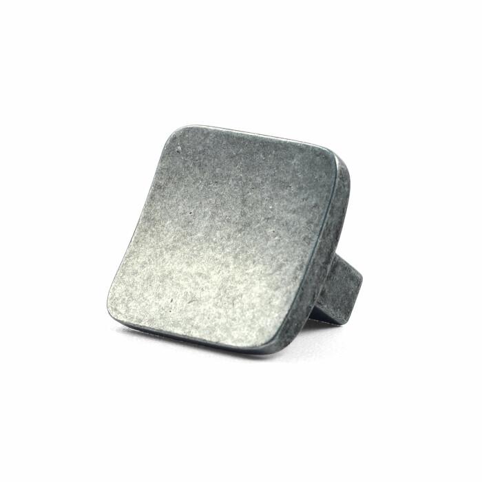 Gałka meblowa GG43, patynowy żelazny