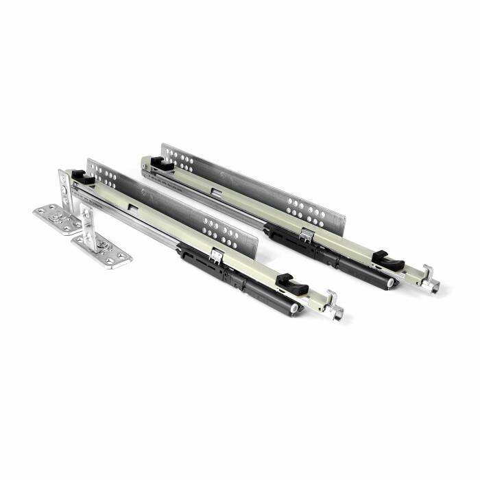 System jezdny HETTICH QUADRO V-6 do carga bocz. MULTI 150 i 200mm (Lewy)