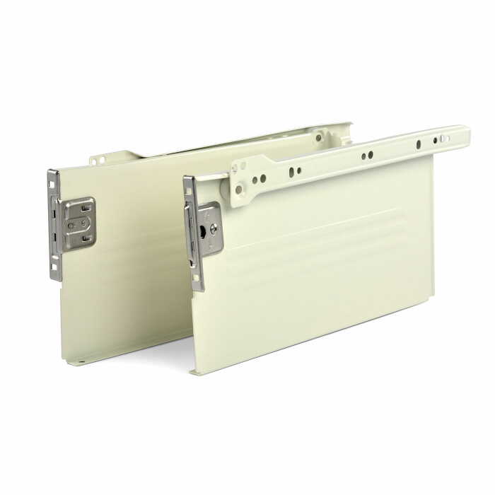 Szuflada MetalBox, biała, H 150, 270 mm