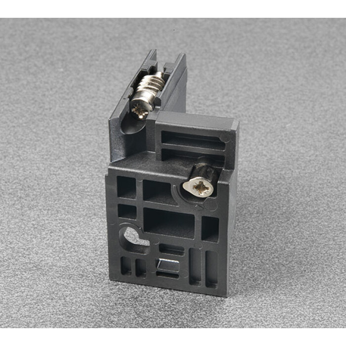 Złącze ścianki tylnej szuflady trójściennej LineaBox, prawe, AMGPDP3