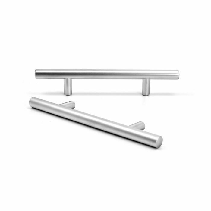 Uchwyt meblowy, relingowy, aluminium, 178mm