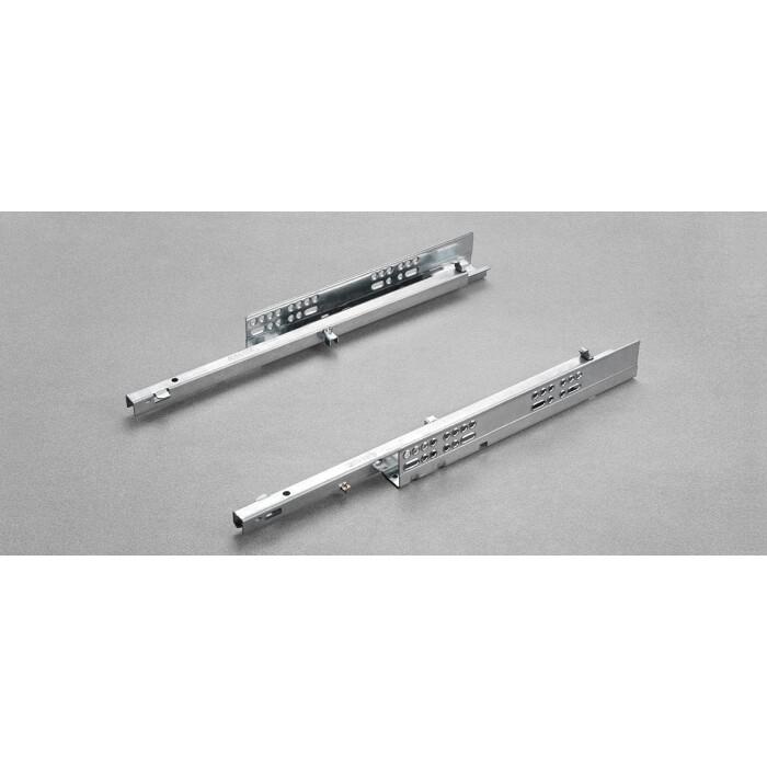 Komplet prowadnic FUTURA PUSH 450mm, częściowy wysuw, 6157/45 (P+L)