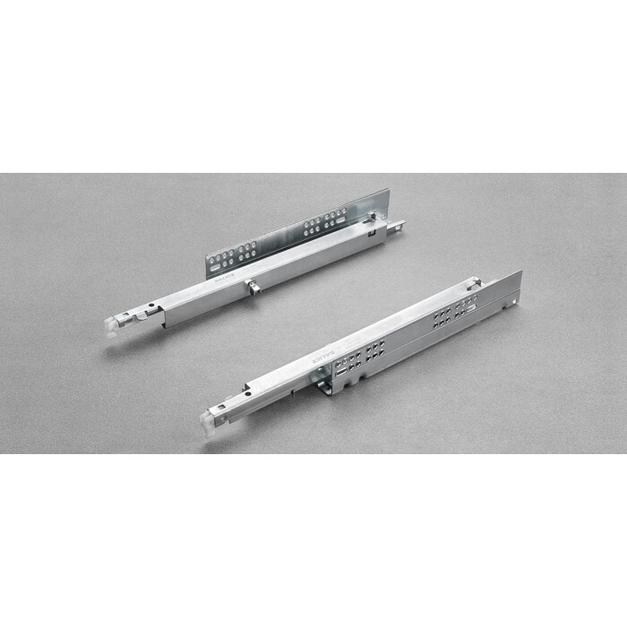 Komplet prowadnic FUTURA PUSH 270mm, pełen wysuw, 6557/27 (P+L)