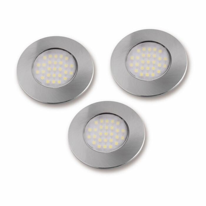 Zestaw lampek LED, zimne białe
