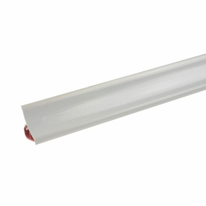 Listwa przyścienna, biały połysk, 3000 mm