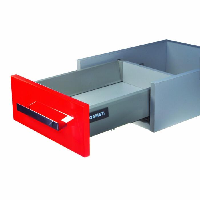 Szuflada Gamet-Box, 450 mm, H-100 mm,szary