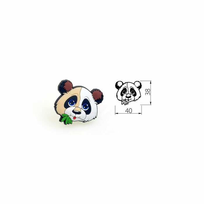Uchwyt gumowy Panda
