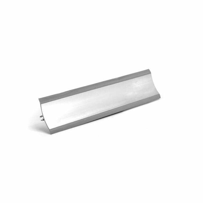 Listwa przyścienna TH - srebro połysk