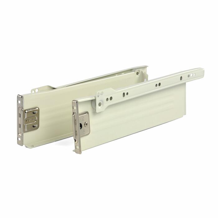 Szuflada MetalBox, biała, H 86, 400 mm
