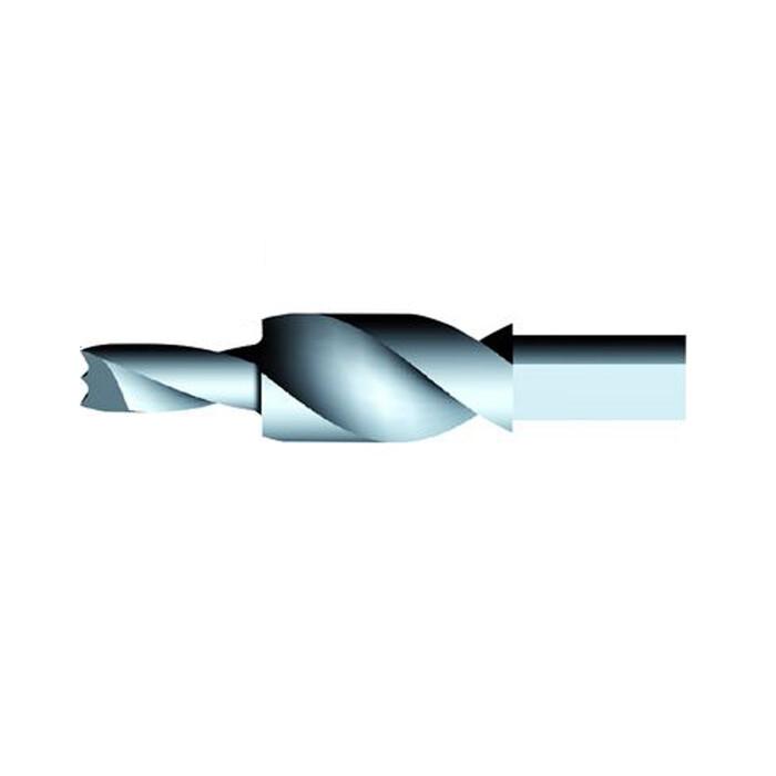 Wiertło dwustopniowe do podpórek KINTAI, Ø8/15 mm, lewe