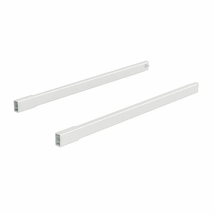 ArciTech, reling wzdłużny 500 mm, kolor biały, lewy