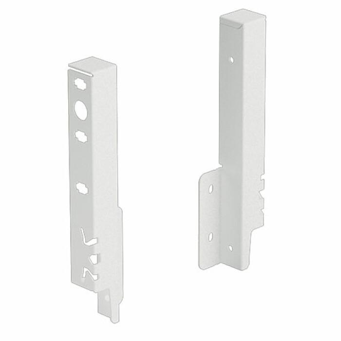 ArciTech, łącznik ścianki tylnej 186 mm, kolor biały, prawy