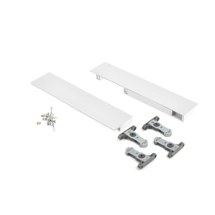 Mocowanie panelu szuflady wewnętrznej SEVROLLBOX SLIM - szuflada średnia, biała