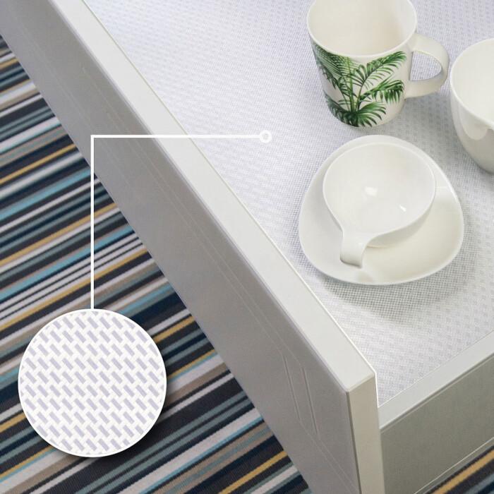 Antypoślizgowa płyta do szuflad RAUVISIO GRIP, 2040x1150x16mm, biała