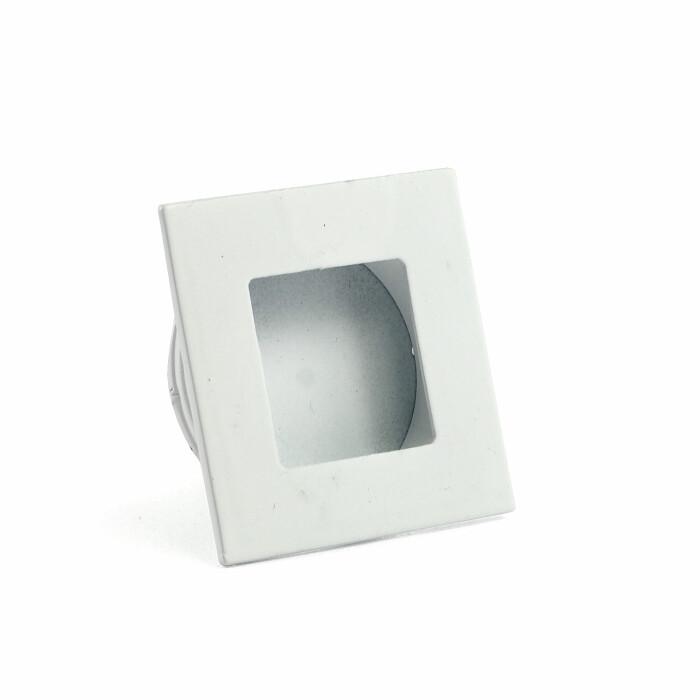 Uchwyt meblowy B226 - wpuszczany, biały