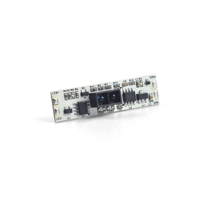 Wyłącznik zbliżeniowy IR-1 MINI do szaf, montowany w profilu LED
