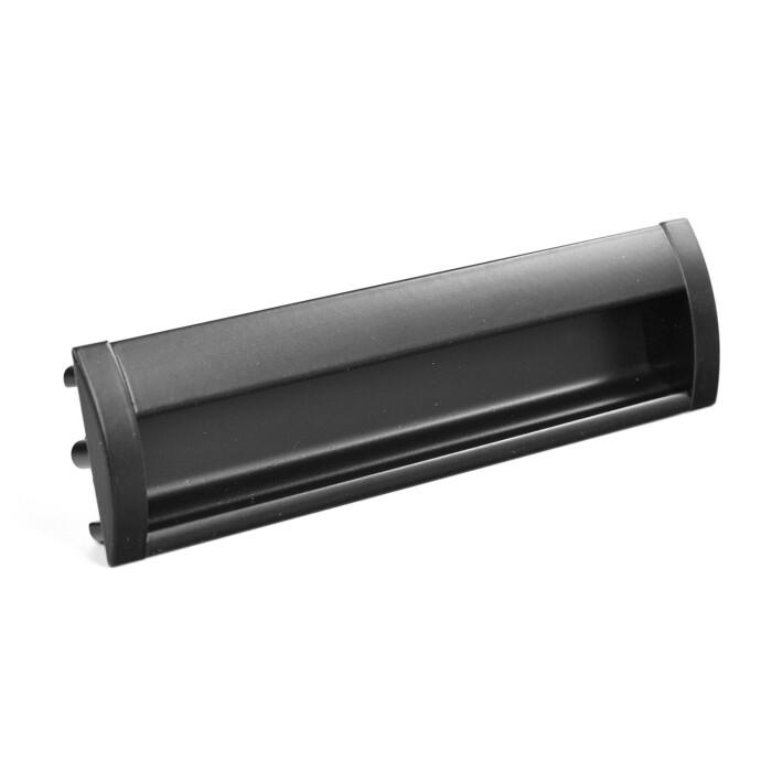 Uchwyt meblowy wpuszczany UC18, 160mm, czarny