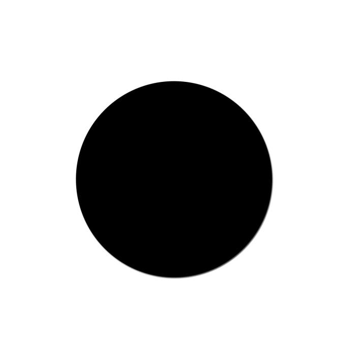 Zaślepka samoprzylepna, 12007 MP czarny grafit, (arkusz = 25szt)
