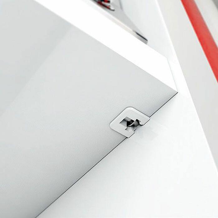 Podpórka do półek Flipper Ø15mm, Biała