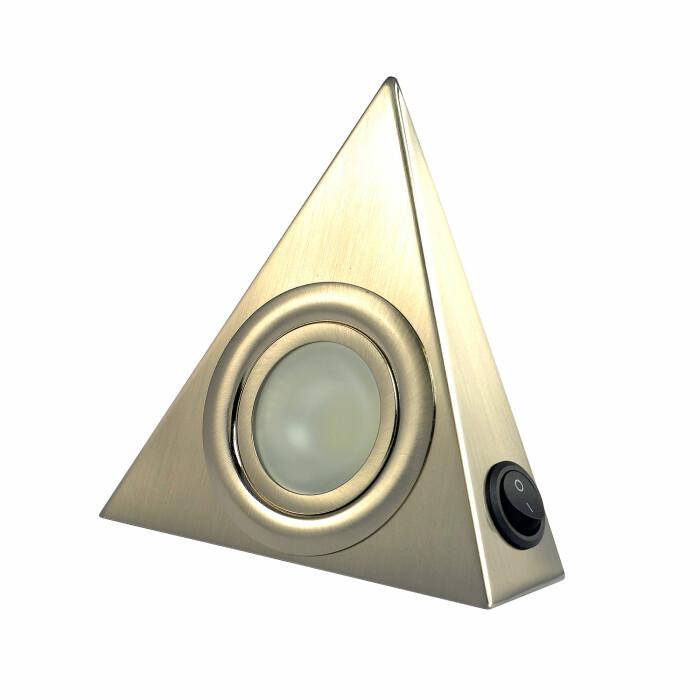 Lampka LED podszafkowa z wyłącznikiem - satyna