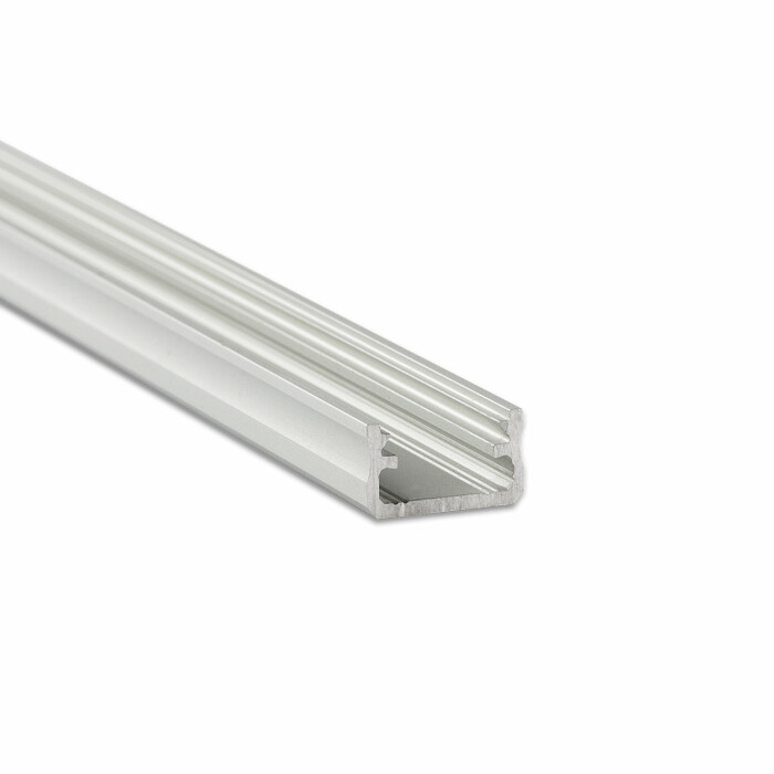 Profil LED LUMINES napowierzchniowy A, srebrny anoda, 2,02 mb