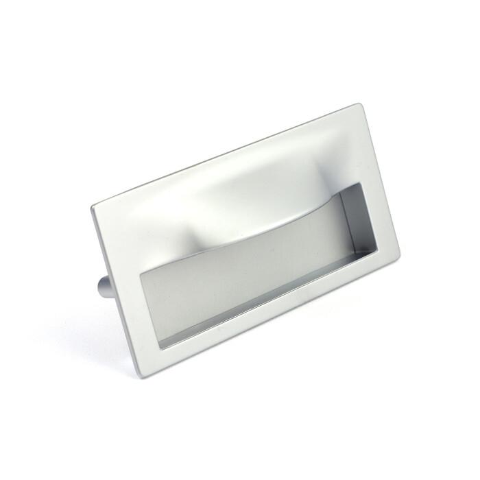 Uchwyt meblowy, wpuszczany MD15, 128mm, aluminium