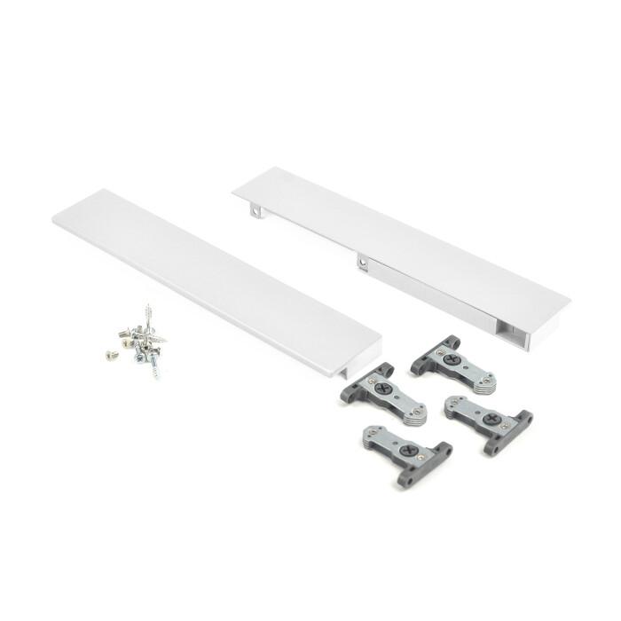 Mocowanie panelu szuflady wewnętrznej SEVROLLBOX SLIM - szuflada wysoka, biała
