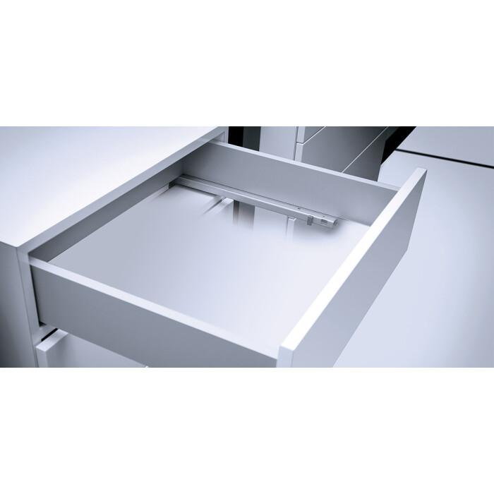 Prowadnica dolnego montażu ModernSlide 3D, 550mm, 30kg