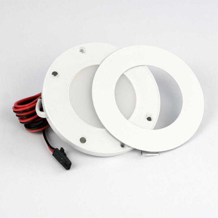 Oprawa LED OL14, biała, barwa światła: biała ciepła, 3W