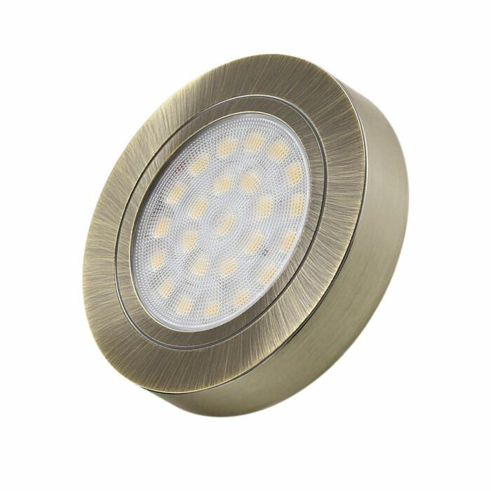 Oprawa OVAL LED BC z dystansem, brąz antyczny