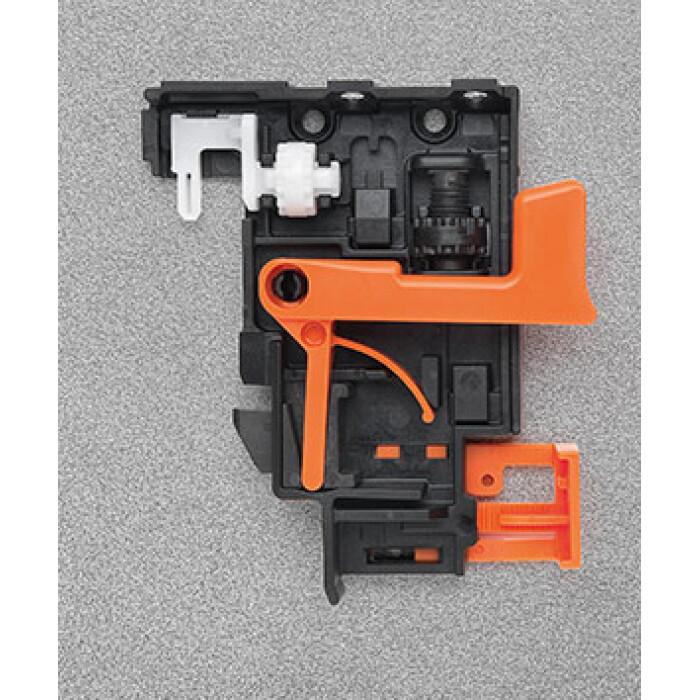 Zacisk CLIP 3D 10 750, regulowany, do prowadnic FUTURA, Lewy