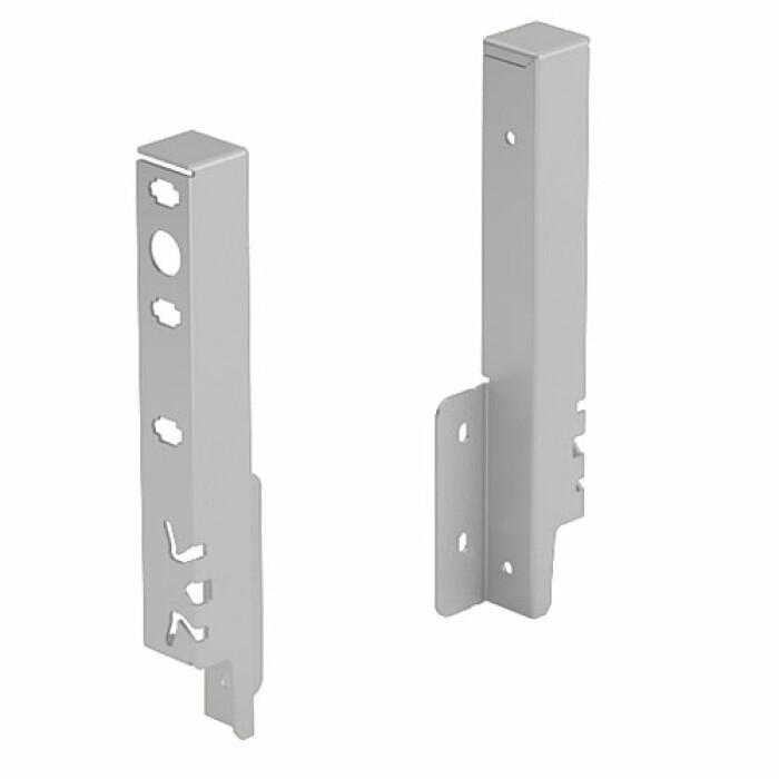 ArciTech, łącznik ścianki tylnej 186 mm, kolor srebrny, prawy