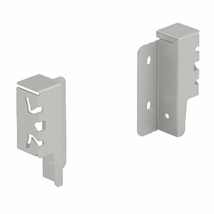 ArciTech, łącznik ścianki tylnej, 94 mm, srebrny, lewy