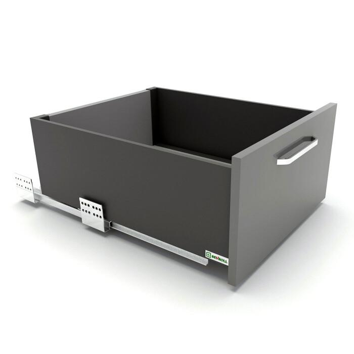 Szuflada SEVROLLBOX SLIM (grafit), wysoka, 300 mm