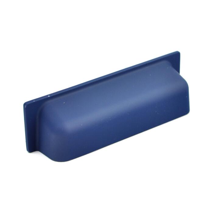 Uchwyt meblowy UP11, 64 mm, granatowy, soft touch