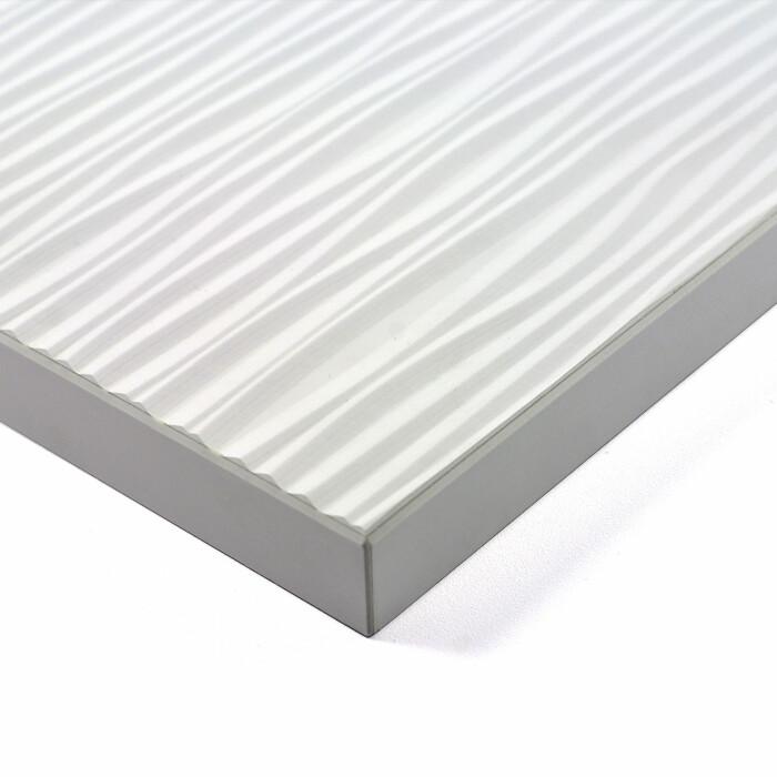 Płyta strukturalna MDF Rauvisio Wave Bianco 1744L, 1300x2800mm