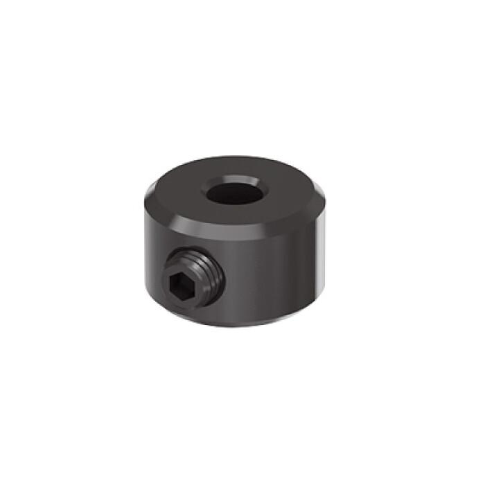 Punktowy pierścień zatrzymujący wiertło, Ø5mm, do szablonów TARGET J10/J12