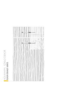 Aquaakryl Szkło DEKOR - Rain Biały 6801