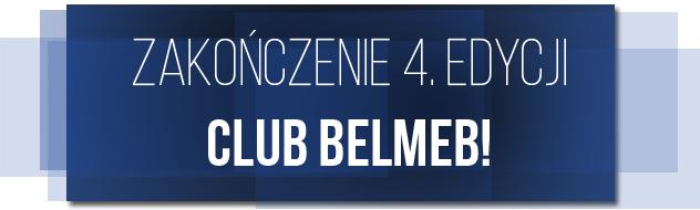 Zakończenie 4. edycji Club Belmeb!
